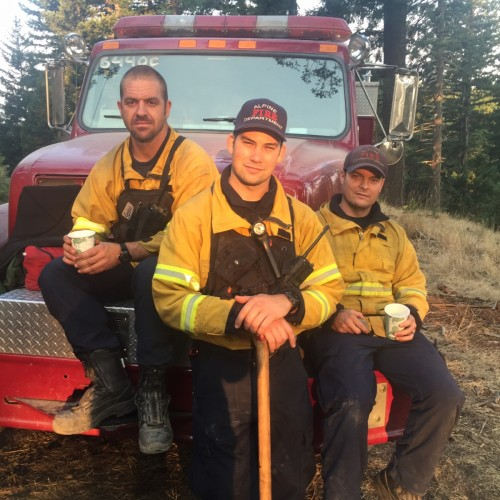 Dinner & Tour w/the Hero's of the Alpine Firehouse - (2) People